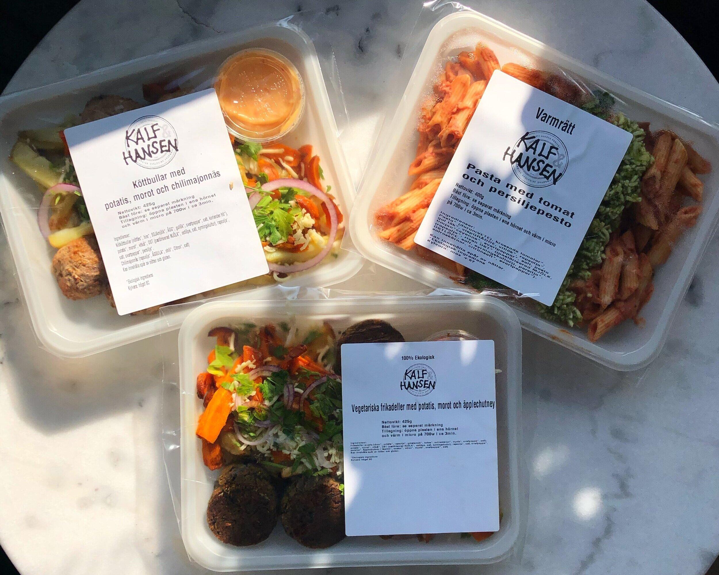 Lunchlådor från Kalf & Hansen