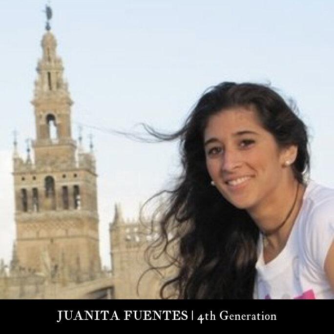 4th Generation |  JUANITA FUENTES SANCHEZ - PALENCIA  Office & Store Manager Ceramicas Sevilla 1952