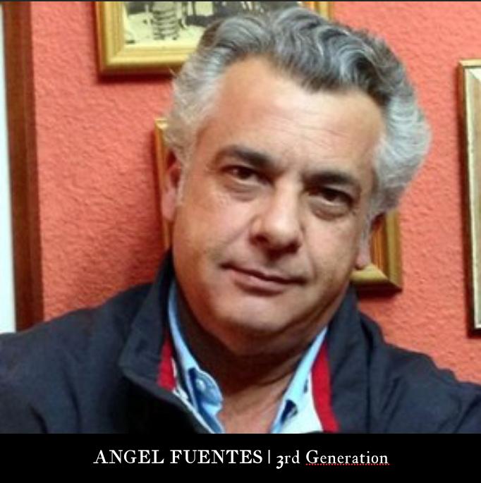 3rd Generation | ANGEL FUENTES MORENO  Currently heading Ceramicas Sevilla 1952