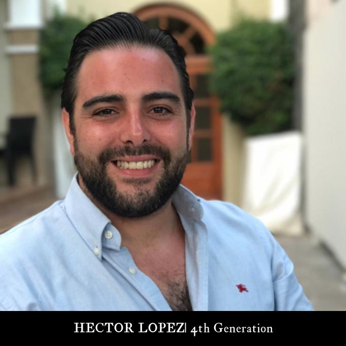 4th Generation |  HECTOR LOPEZ CANO  Store Manager Ceramicas Sevilla 1952