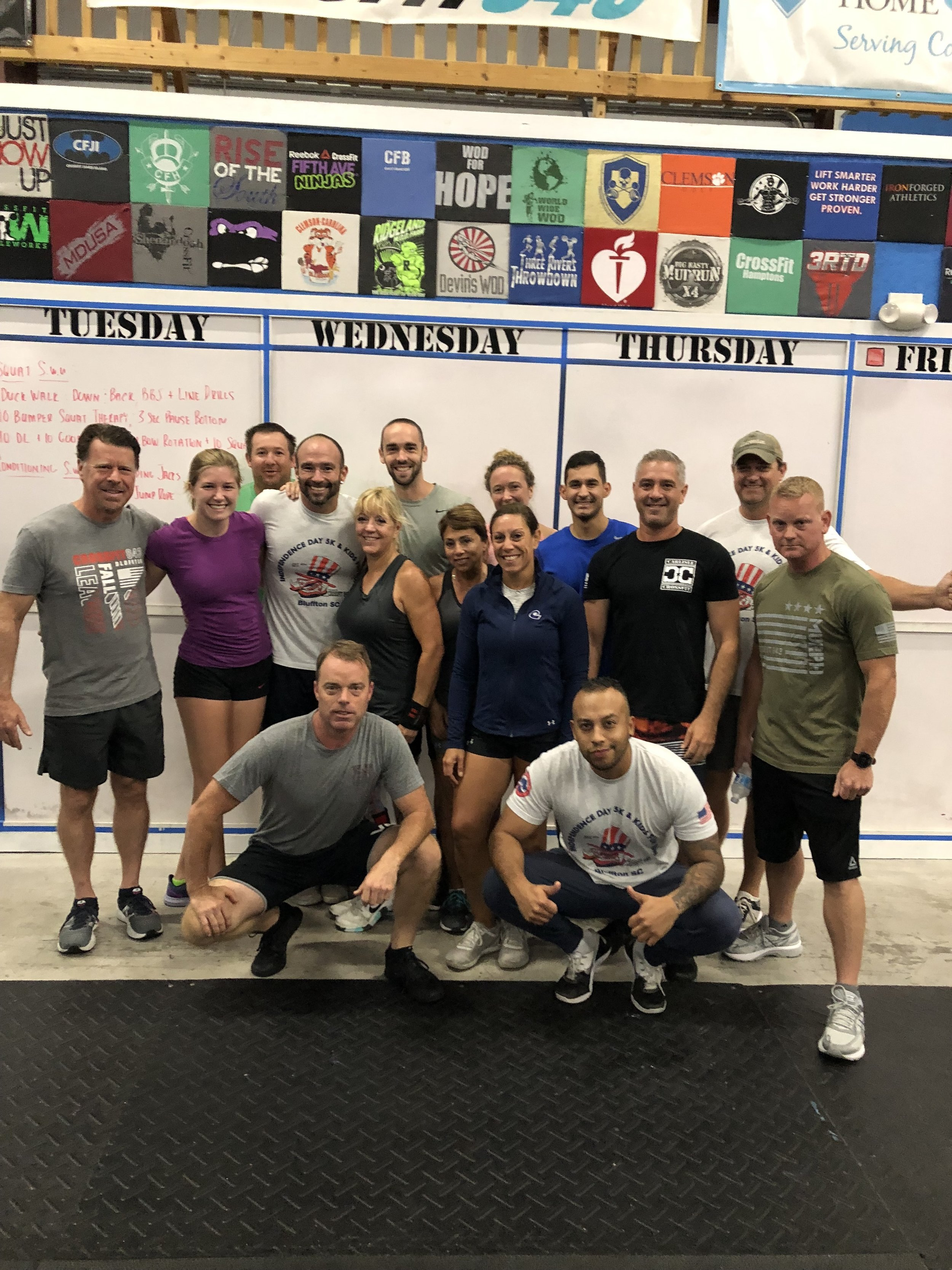 First ever 630 AM CrossFit class