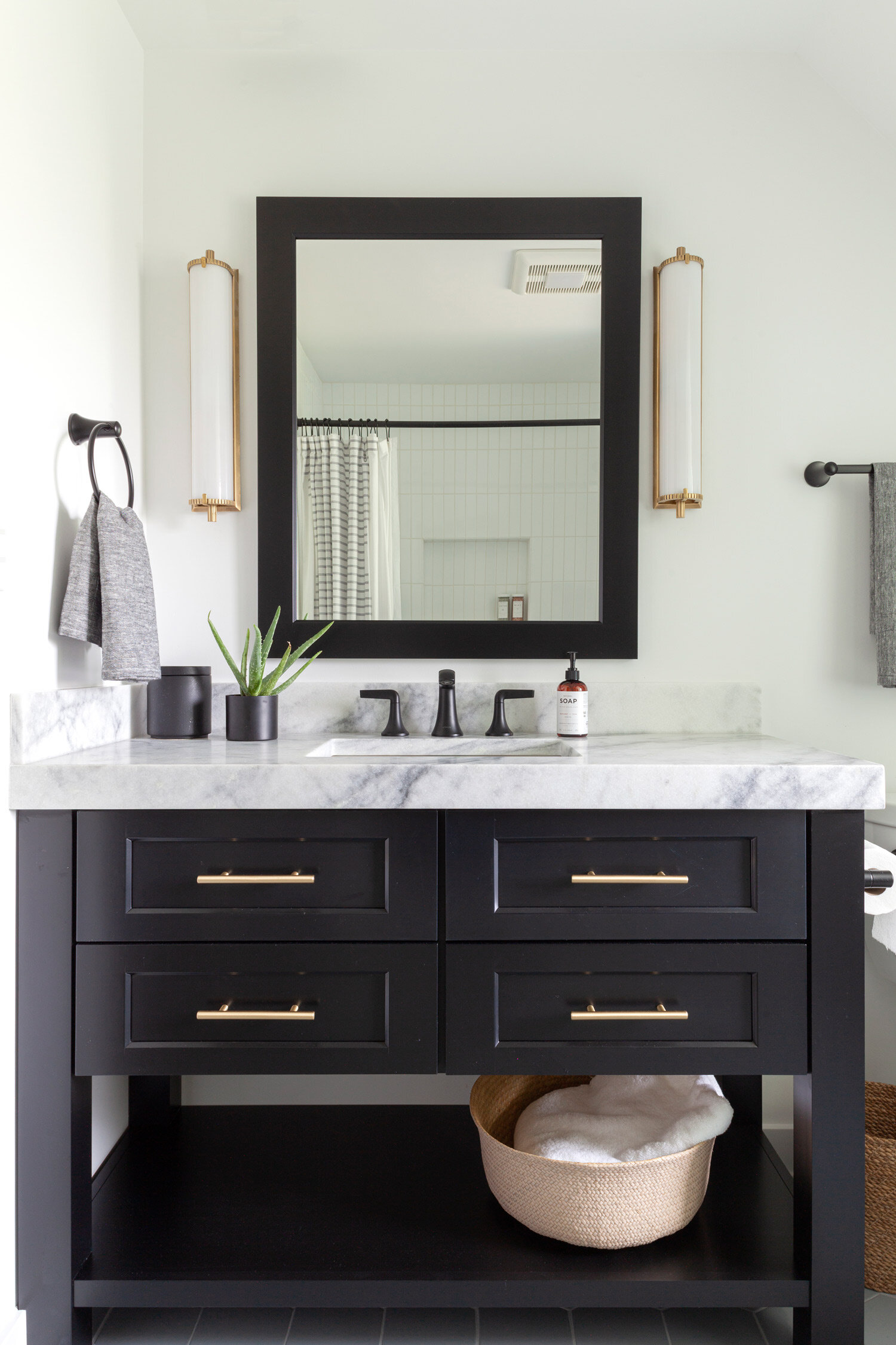 Guest Bath Offering An Urban Oasis The Kitchen Studio