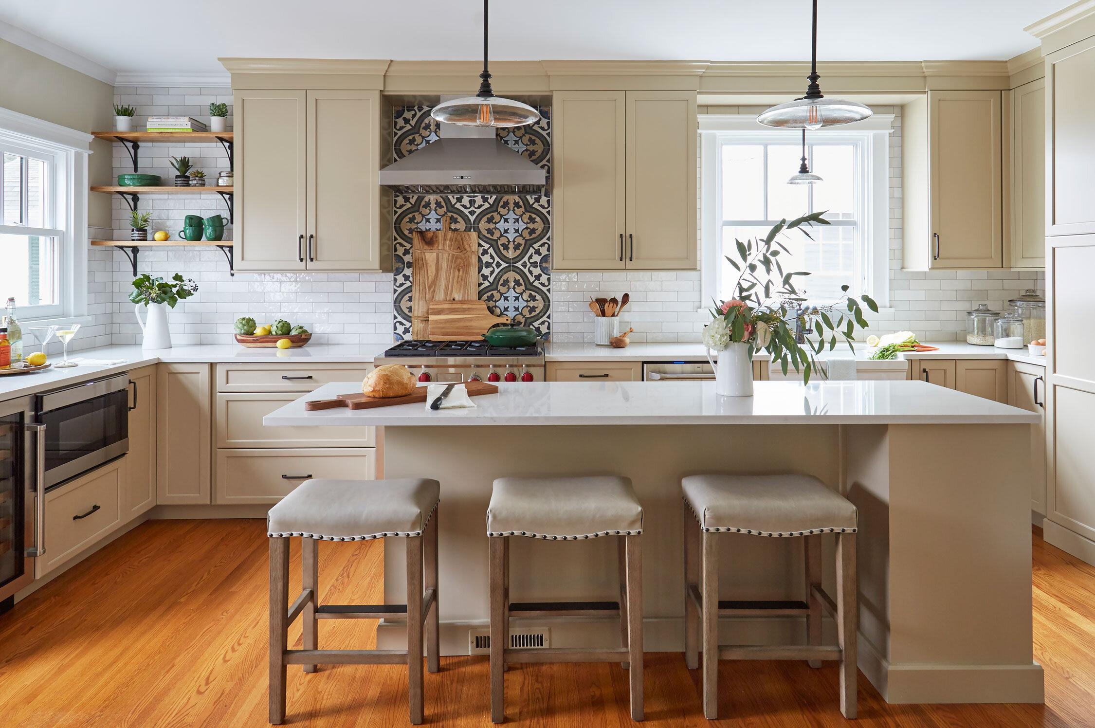 Design Build Vintage Kitchen Remodel The Kitchen Studio