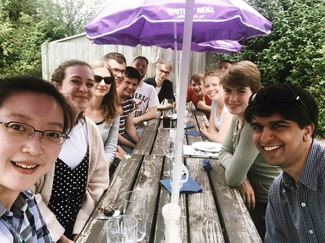 We loved celebrating Jinny's birthday at our student lunch on Sunday