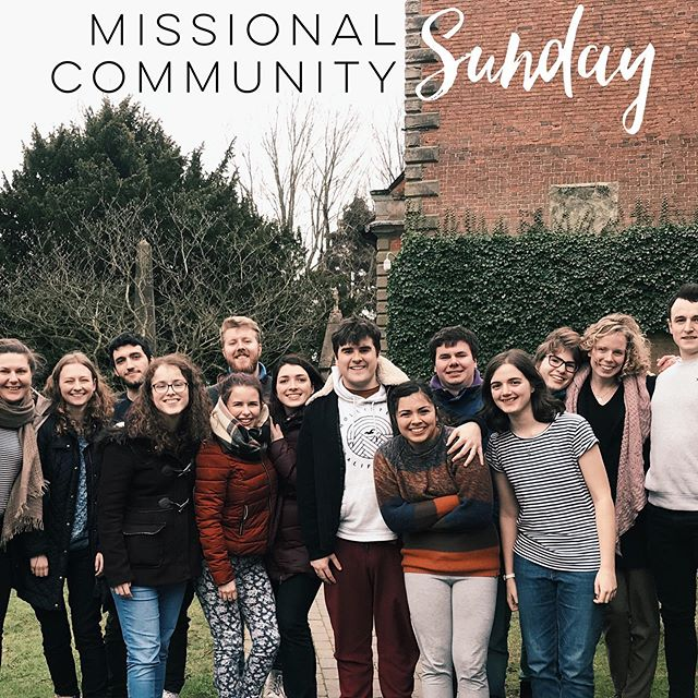 It's our Missional Community Sunday this week! As a student group we'll be heading to memorial park for lunch, games and prayer. Meet at 11 and bring along some snacks to share/blankets to sit on/games to play. (Hopefully we won't need to be dressed like we were in this picture!)