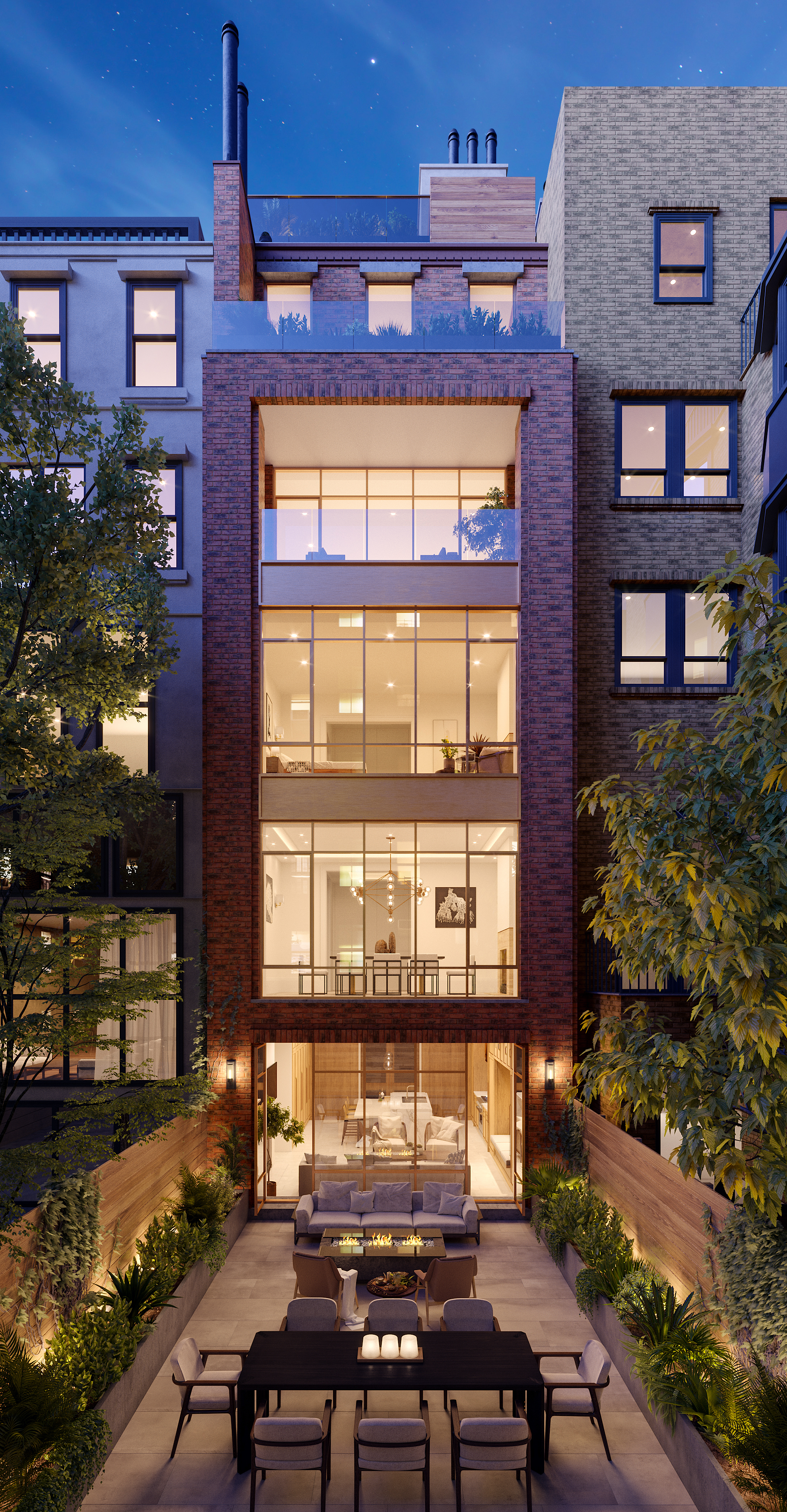 Rendering for 56 East 66th Street