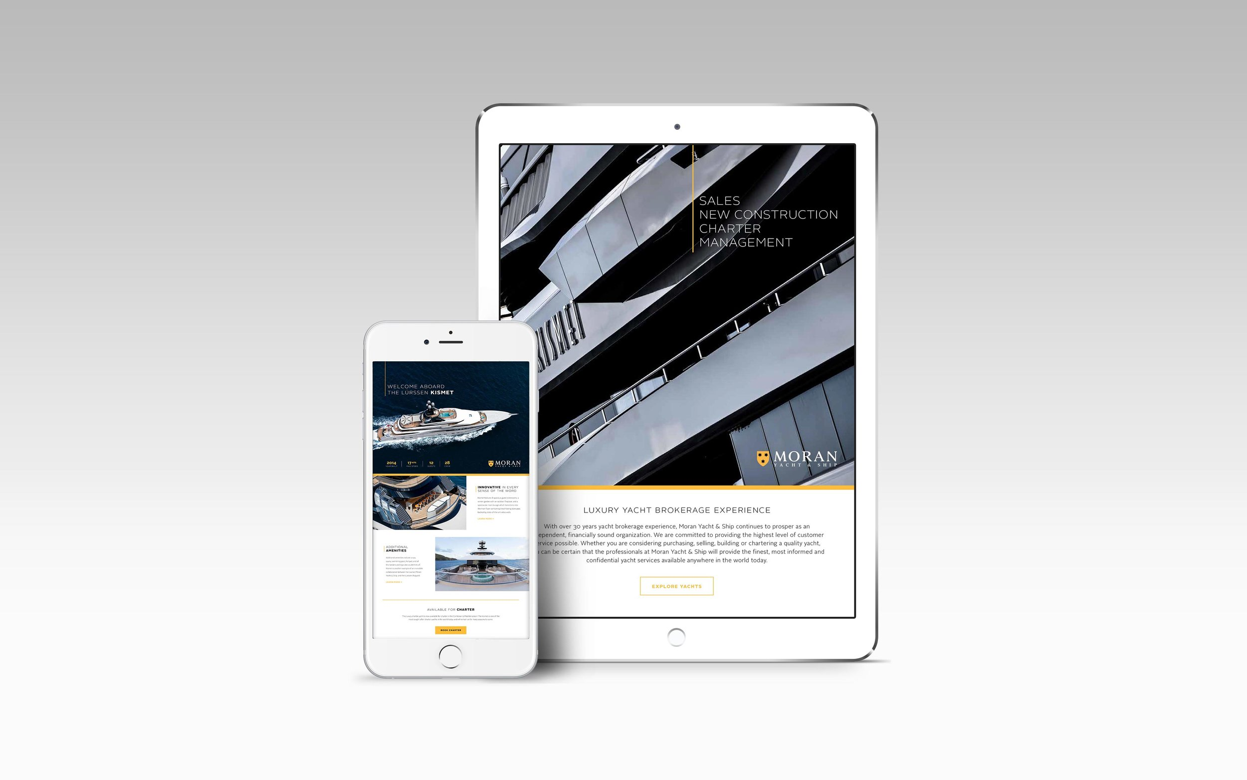 Email Marketing for Moran Yacht & Ship
