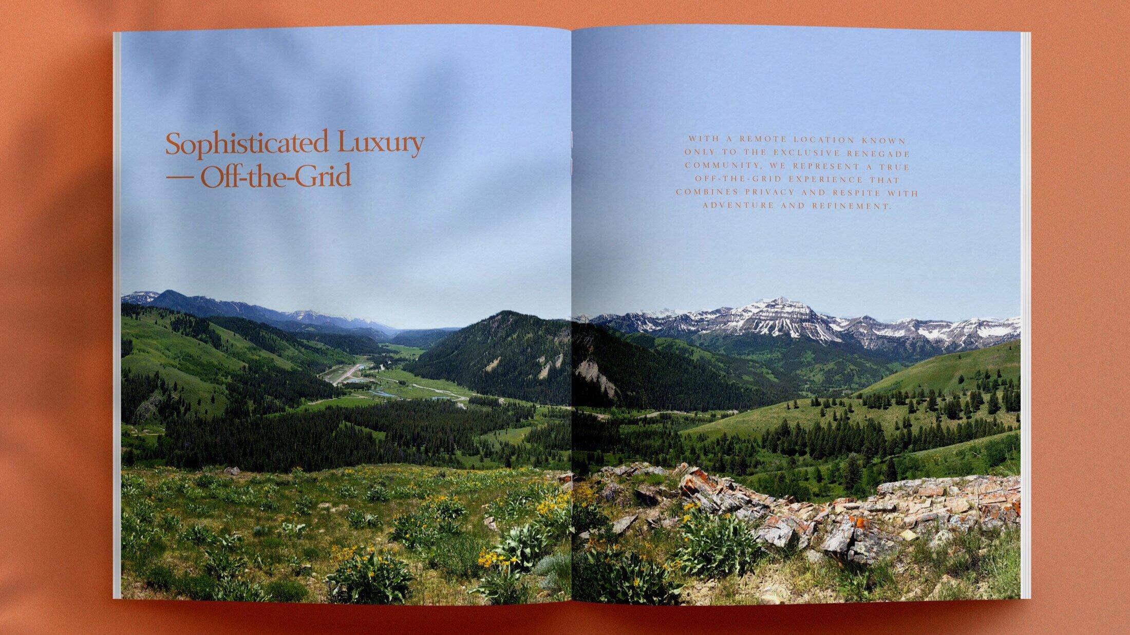 Brochure for Renegade