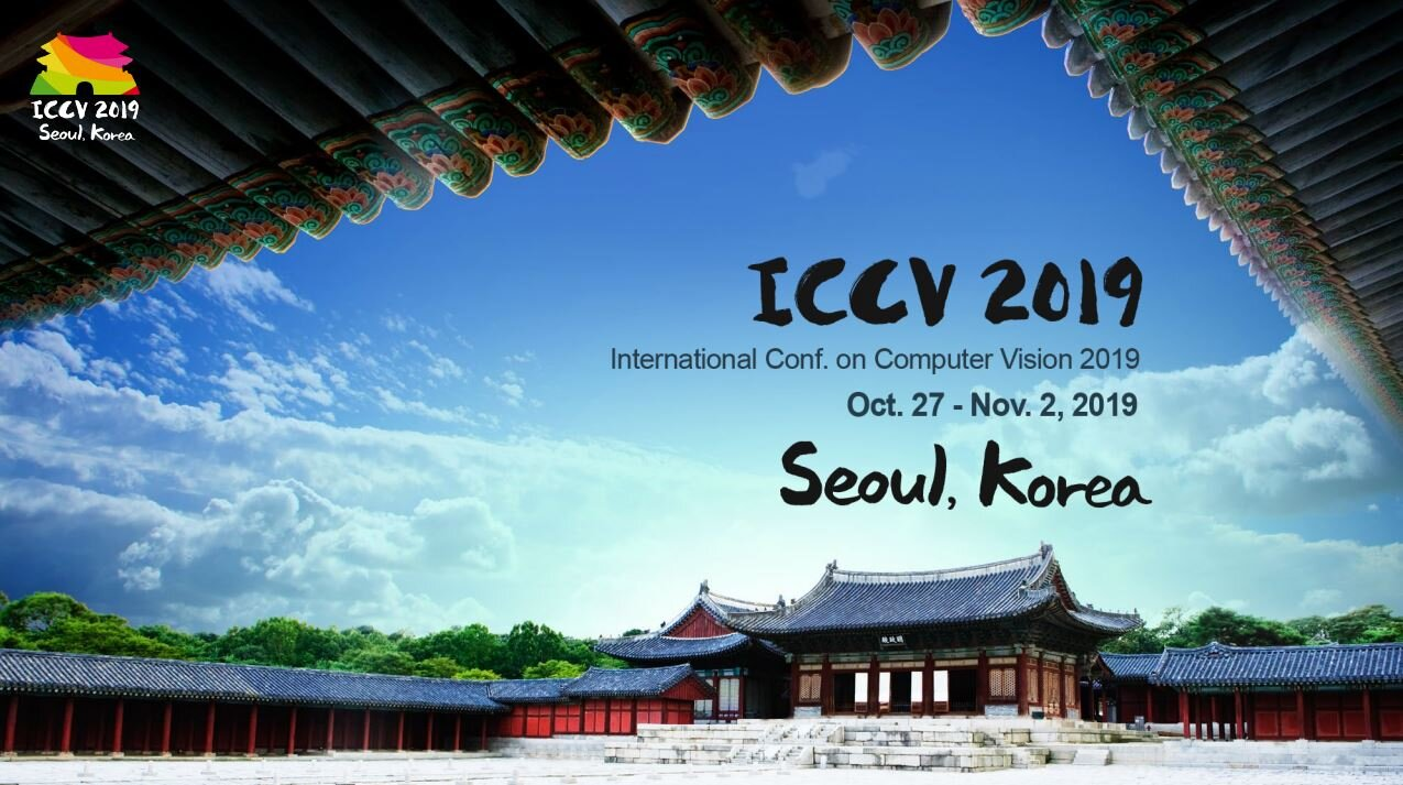 ICCV, Oct. 27- Nov. 2 in Seoul, Korea
