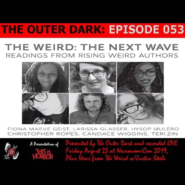 Check out some amazing readings from our time at Necronomicon!! #weird #weirdfiction #weirdpodcast #horror#dark#readings