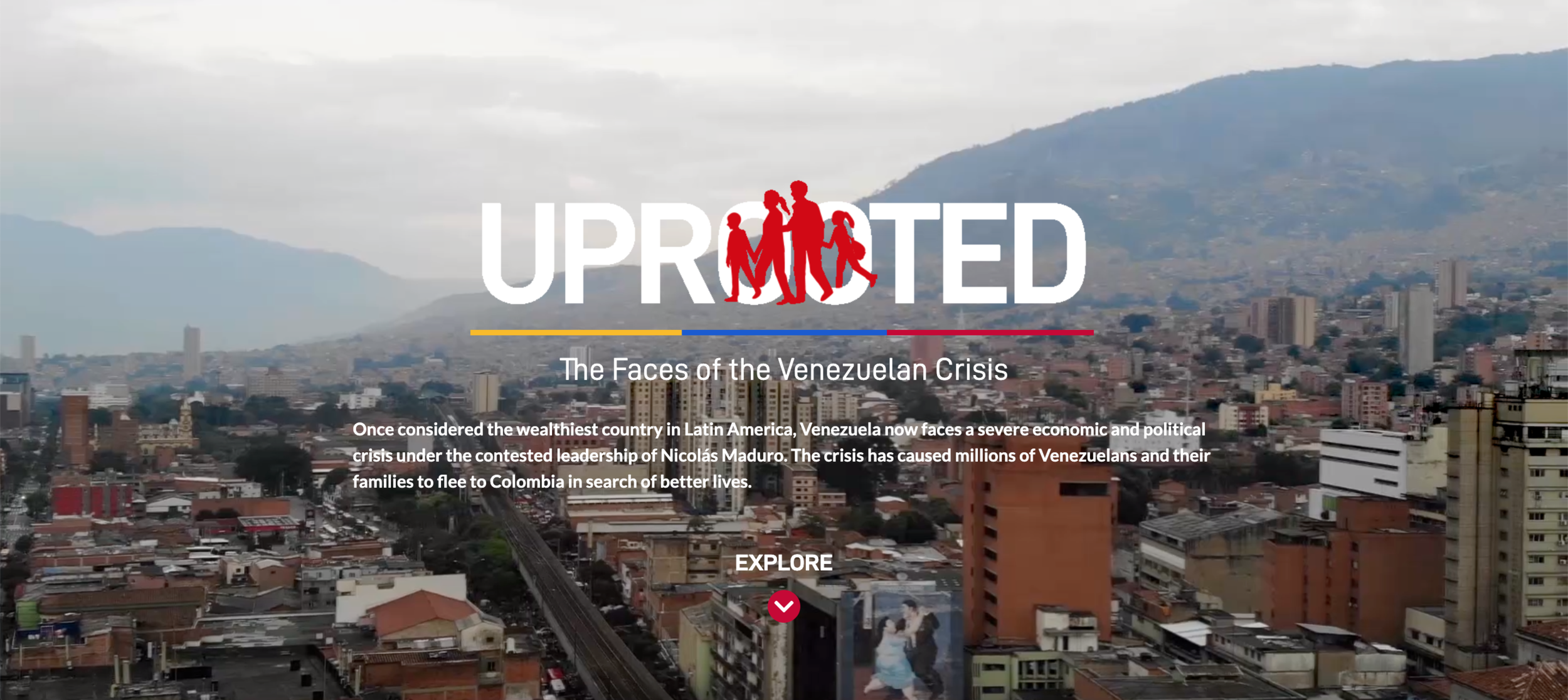 Uprooted Homepage