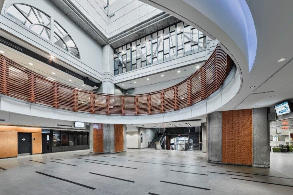 Alternate view of the Atrium Event Space at the Centre for Hospitality & Culinary Arts at George Brown College