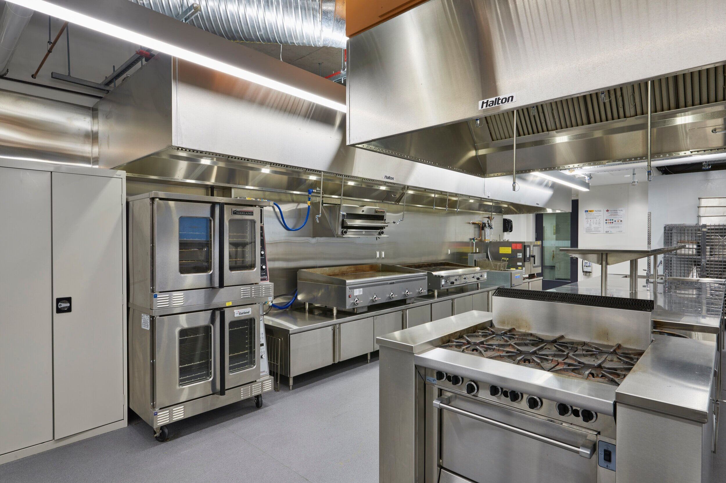 A Culinary Kitchen Lab at the Centre for Hospitality & Culinary Arts at George Brown College