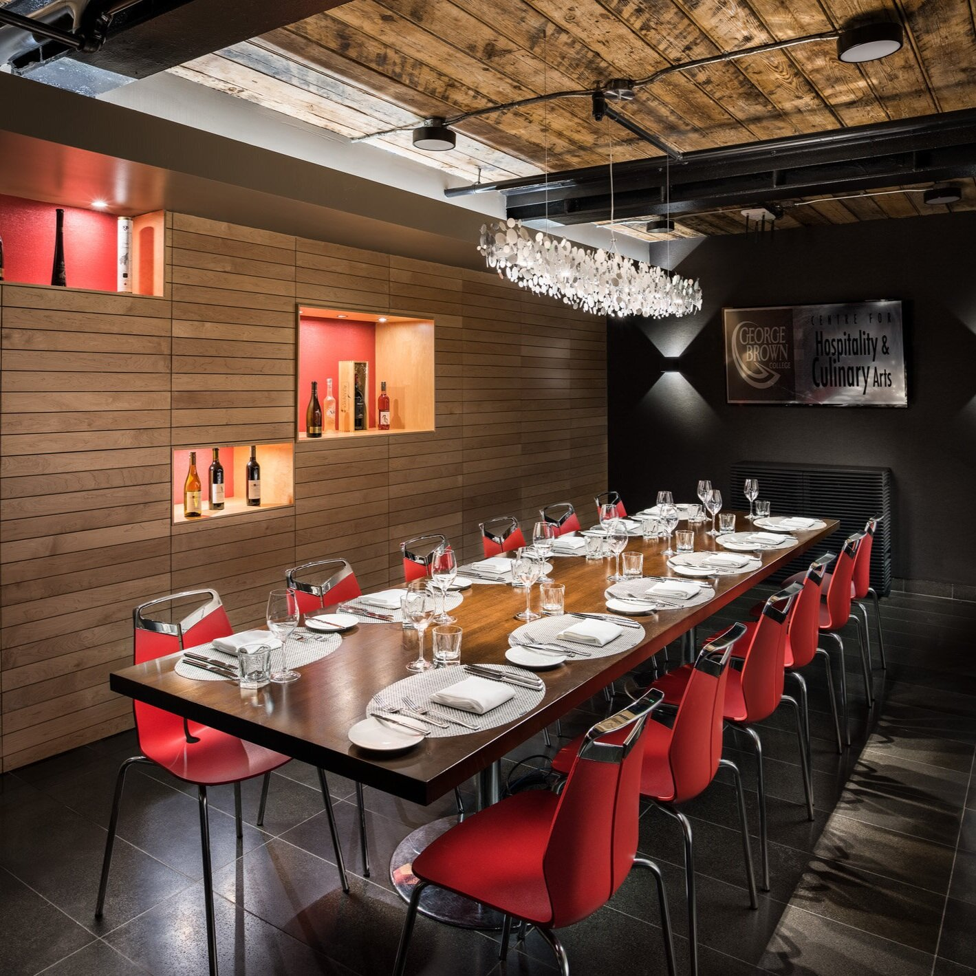 The Private Dining Room at The Restaurant