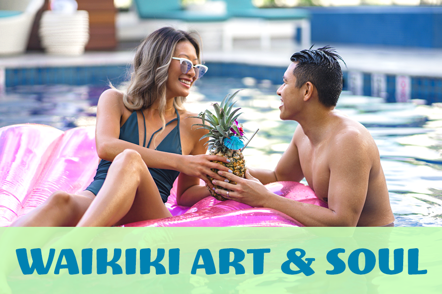 Waikiki Beachcomber by OUtrigger - Feel the vibe of a new Waikiki. Sip island-roasted coffee, be inspired by the works of local artists and join the playground of true Hawaii originals.