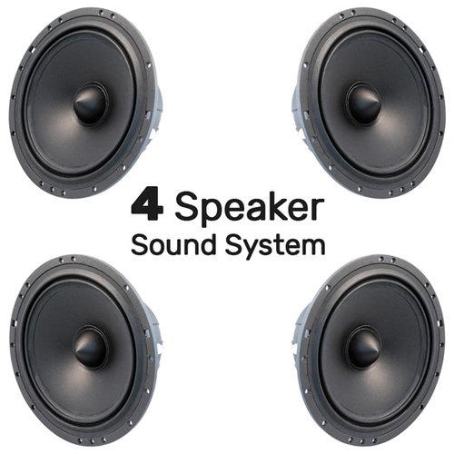 4 Speaker Sound System