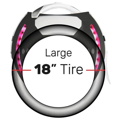 "Large 18"" Tire"