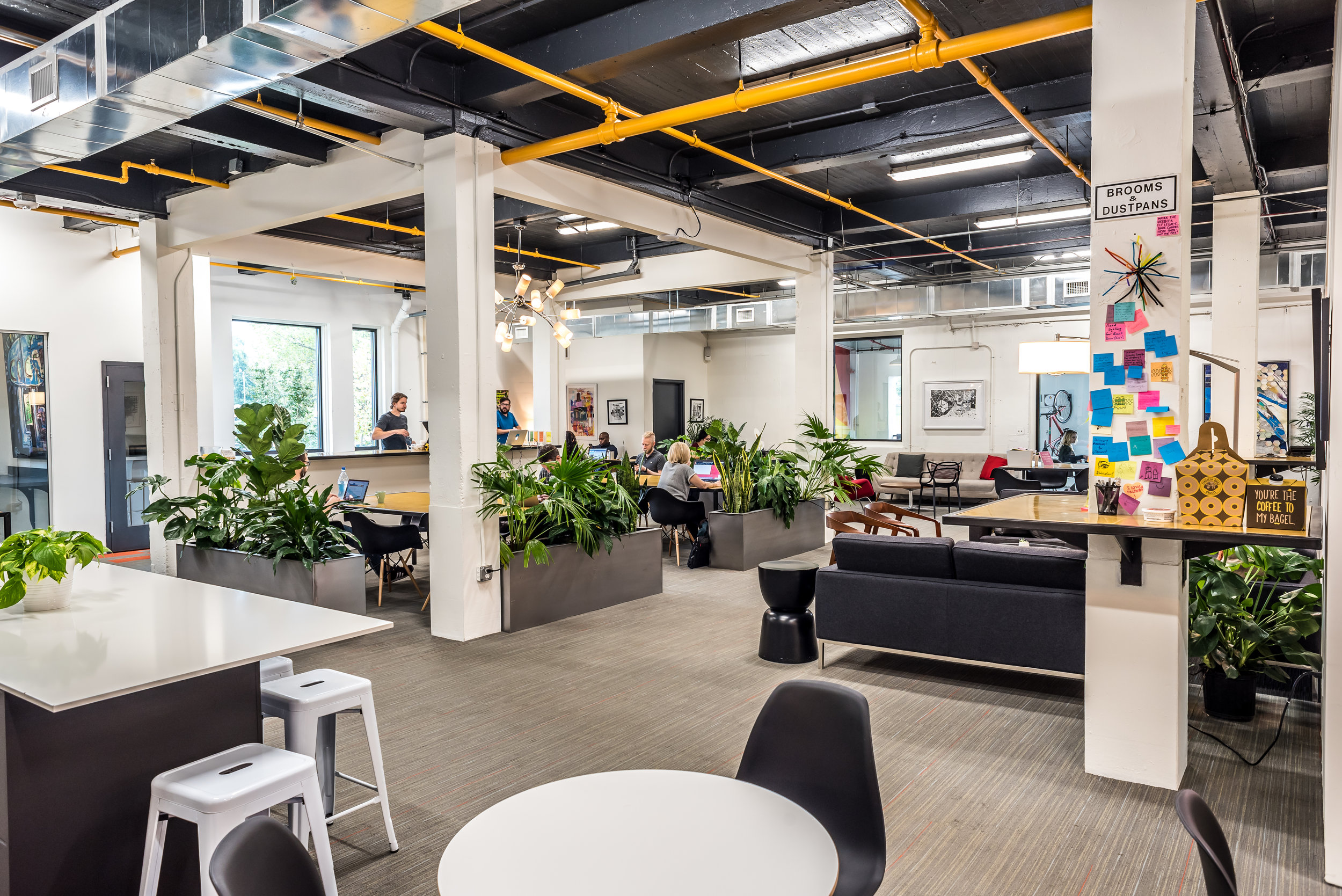 Advent Coworking renovation designed by Studio 1616