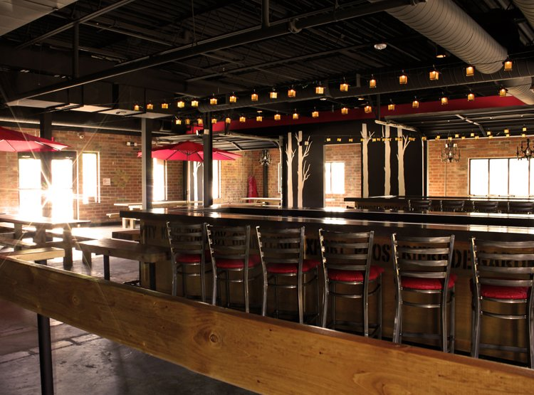 VBGB Beer Hall and Garden designed by Studio 1616