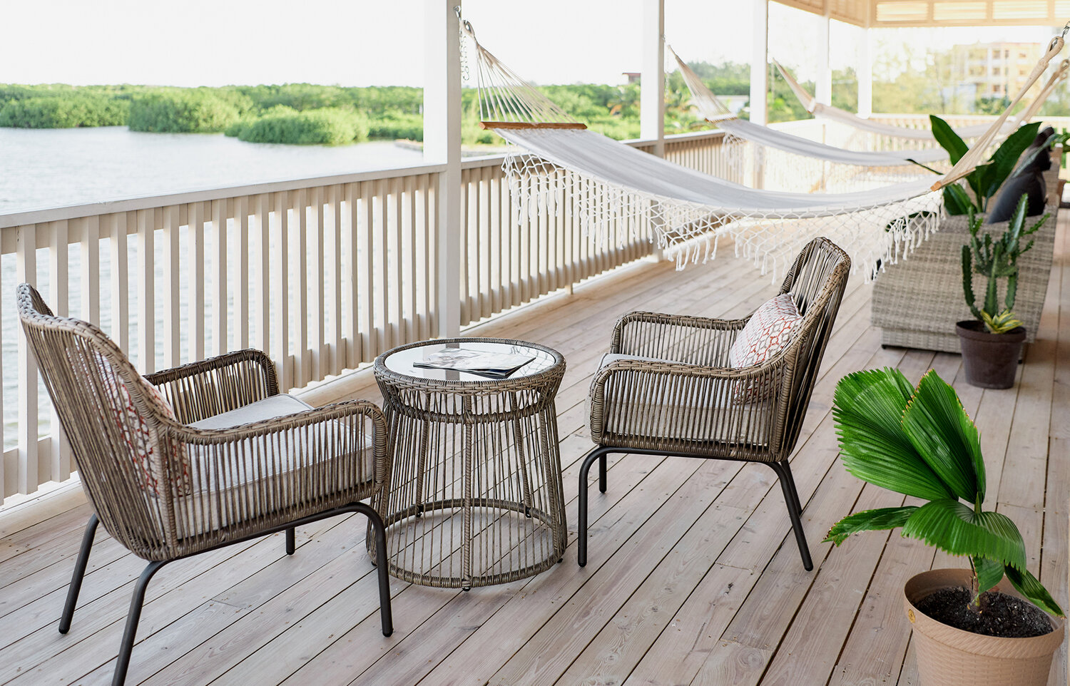 Your very own Balcony at Salt Life Belize, Ambergris Caye