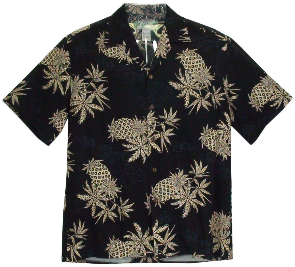 Pineapple Map Black