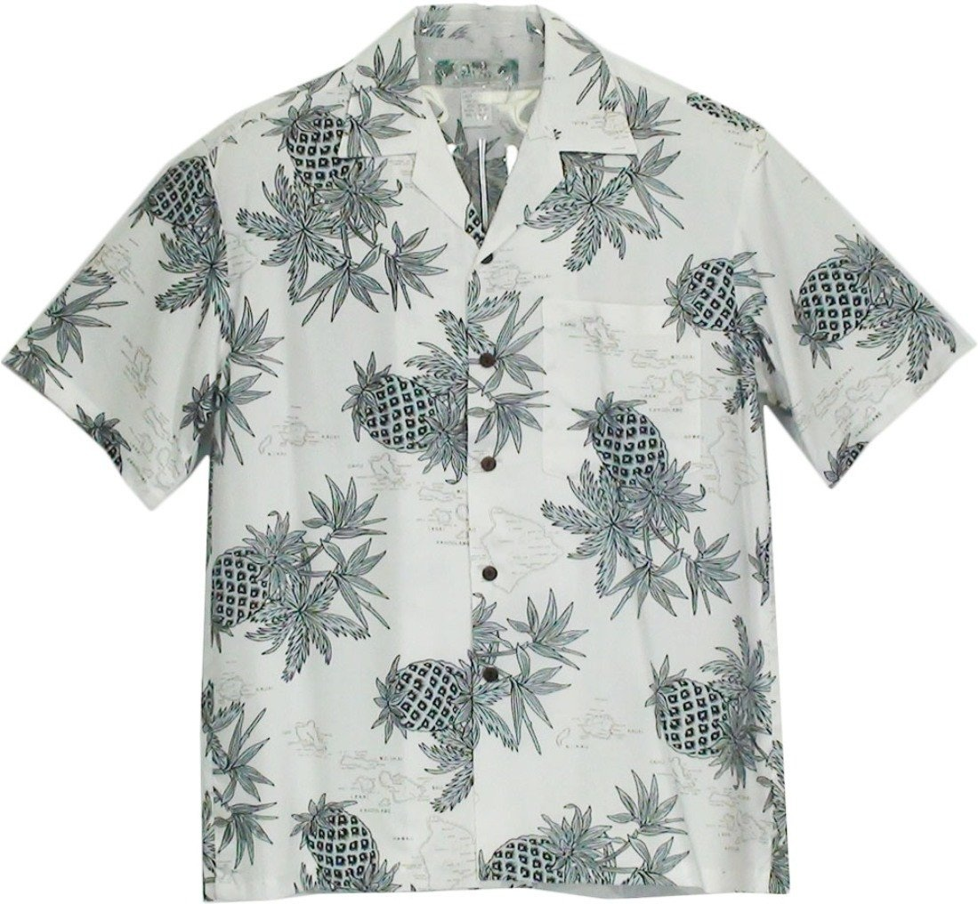 Pineapple Map White