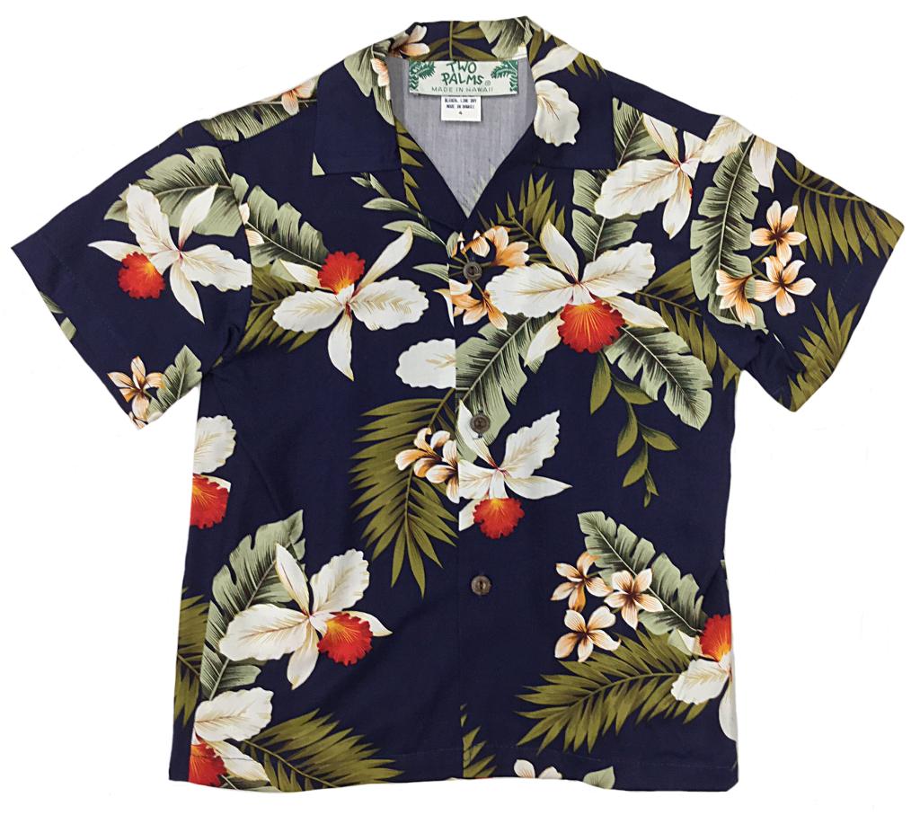 Hawaiian Orchid Navy