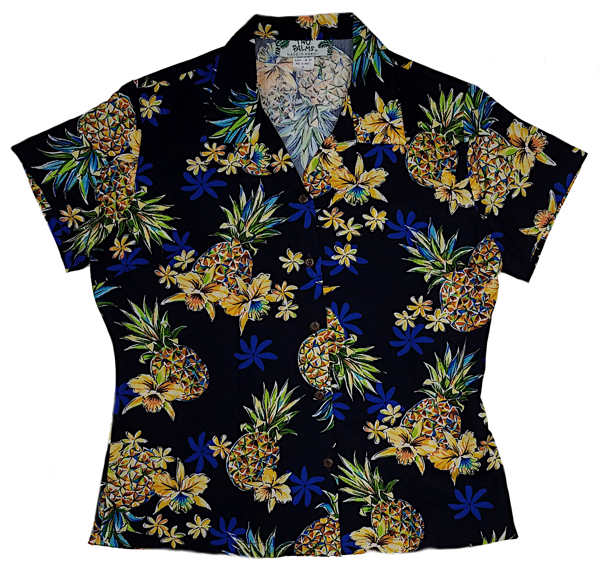Golden Pineapple Navy