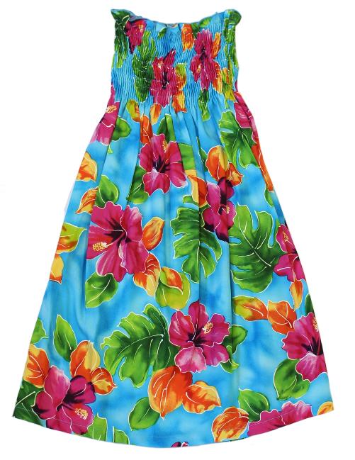 Hibiscus Watercolor Blue
