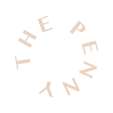 Round Peach Penny Logo.png