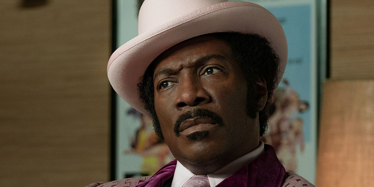 Eddie Murphy as the iconic Rudy Ray Moore in DOLEMITE IS MY NAME
