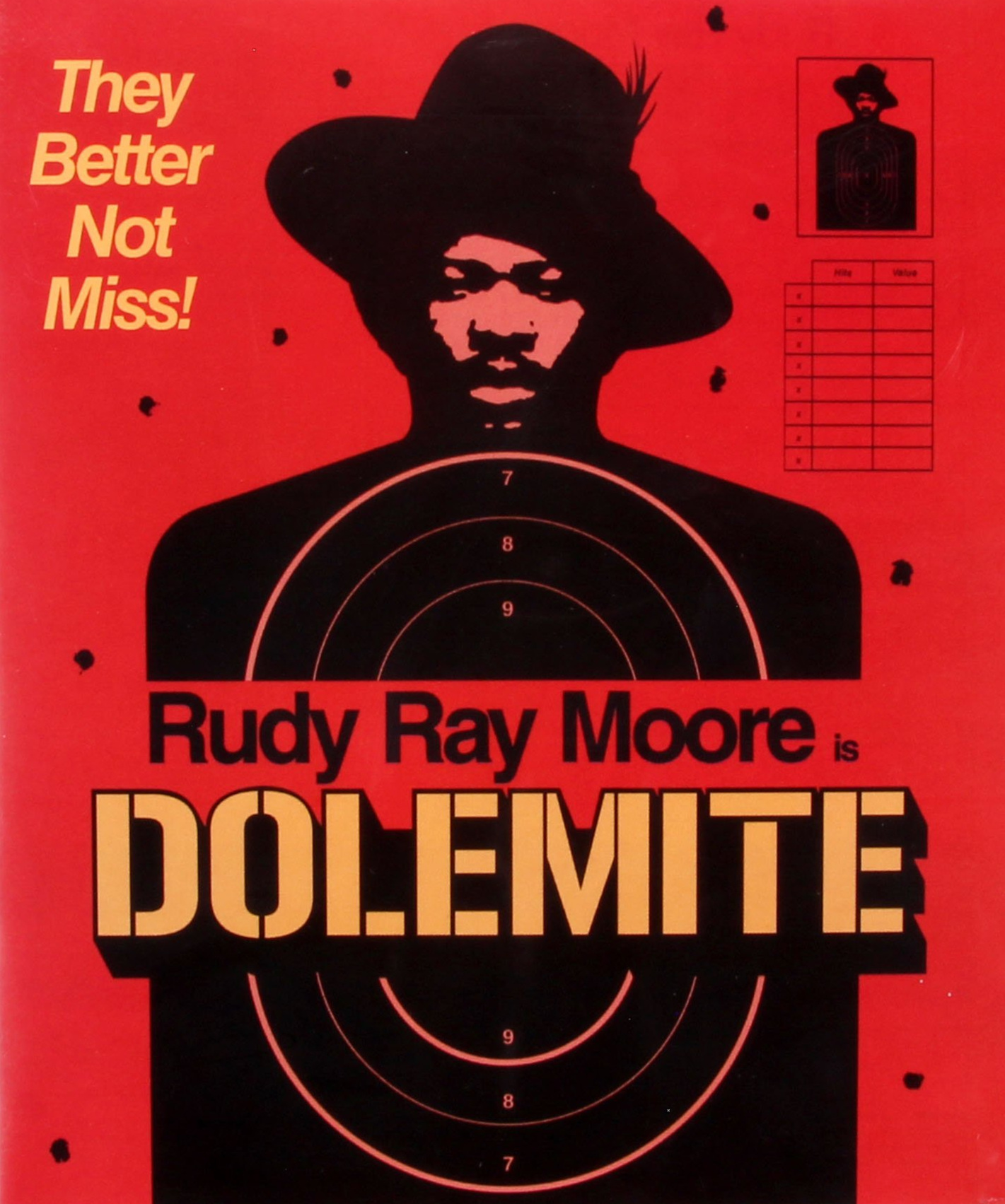 DOLEMITE - (RECOMMENDED PURCHASE)(Rudy Ray Moore), the baddest pimp in town, has just been released from prison, ready to take revenge on notorious gangster Willie Green (D'Urville Martin), who set him up on a phony drug charge and stole his club, The Total Experience. With the help of his friend Queen Bee (Lady Reed) and their band of Kung Fu fighting vixens, Dolemite takes on every