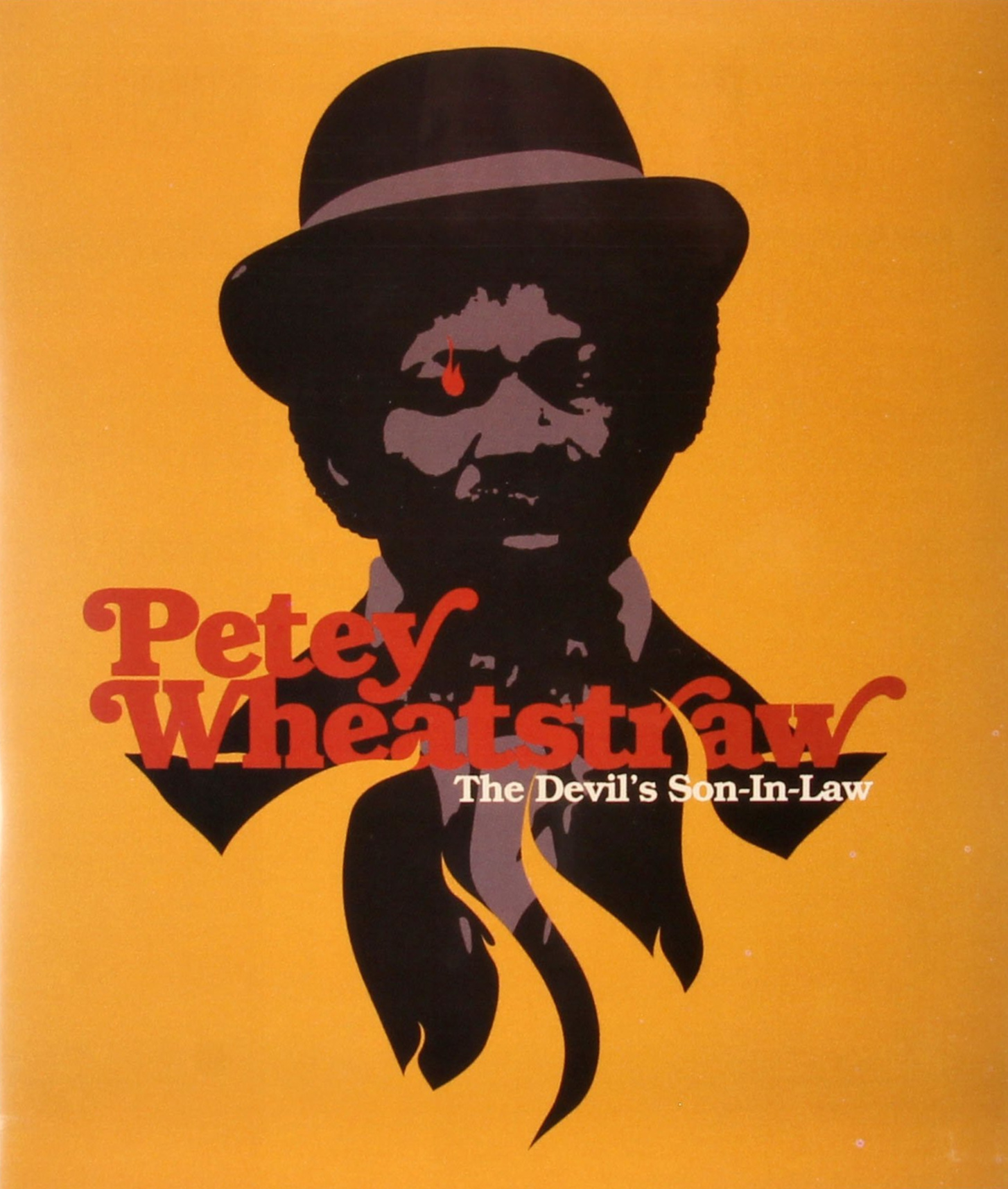 PETEY WHEATSTRAW - (RECOMMENDED PURCHASE)Rudy Ray Moore is Petey Wheatstraw, whose talent for comedy is only topped by his gift for Kung-Fu. When his arch rivals, Leroy and Skillet, massacre him and his friends, Petey ends up in Hell and is given a unique opportunity: in exchange for his and his friends' return to earth, he must wed Satan's daughter. The only problem: she's the ugliest woman he's ever seen! Will Petey be able to defeat Satan with his magic pimp cane or will he be forced to become the Devil's son-in-law?Rudy Ray Moore's third theatrical feature, PETEY WHEATSTRAW is a raucous and ridiculous blending of action, horror, and Moore's signature brand of raunchy humor. Written and directed by Cliff Roquemore, PETEY is perhaps the craziest of all of Moore's films and is coming to Blu-ray for the first time, newly restored in 2k from its original 35mm camera negative.Directed by: Cliff RoquemoreActors: Rudy Ray Moore, Jimmy Lynch, Leroy Daniels, Ernest Mayhand, Ebony Wright, G. Tito Shaw1977 / 99 minutes / Color / 1.85:1-Region free Blu-ray and DVD combo pack.-All extras on both formats.-Scanned and restored in 2k from 35mm original camera negative-