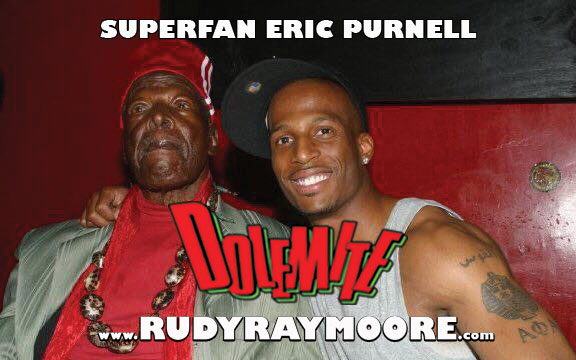 "ERIC PURNELL - ""Rudy and I in Atlanta 2007 at the EARL. He let me get on stage and do a few monologues with him."""