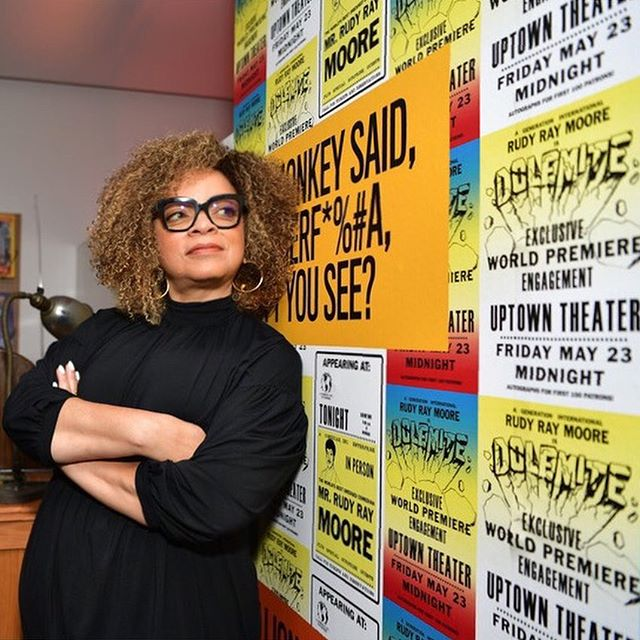 Ruth Carter at the TIFF exhibit.  BE SURE TO READ THIS EXCELLENT ARTICLE ON HER CREATIONS FOR THE FILM !