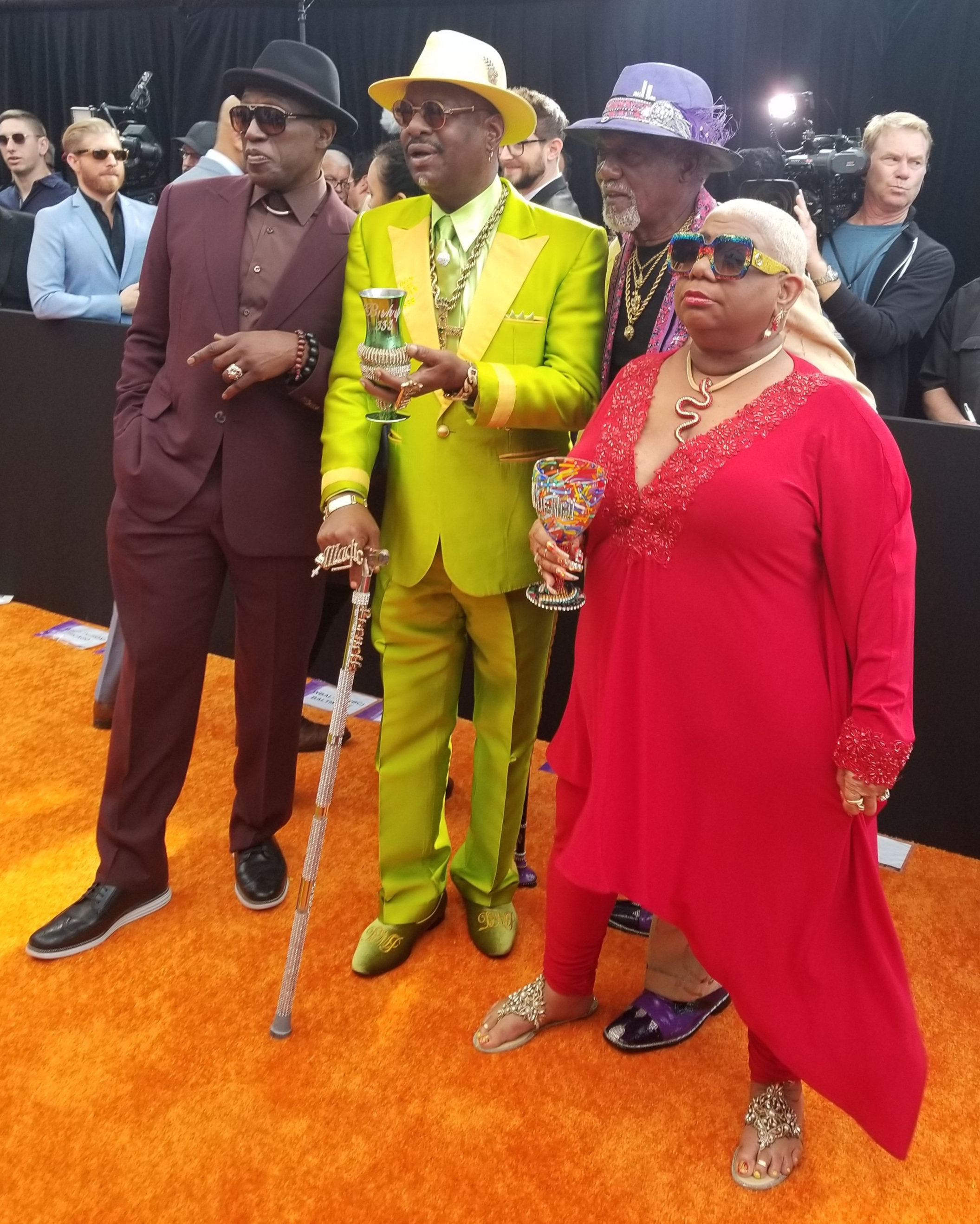 "Wesley Snipes, Arch Bishop Don Magic Juan (Moore gave him the ""Arch Bishop"" name), Jimmy Lynch and Luenell."