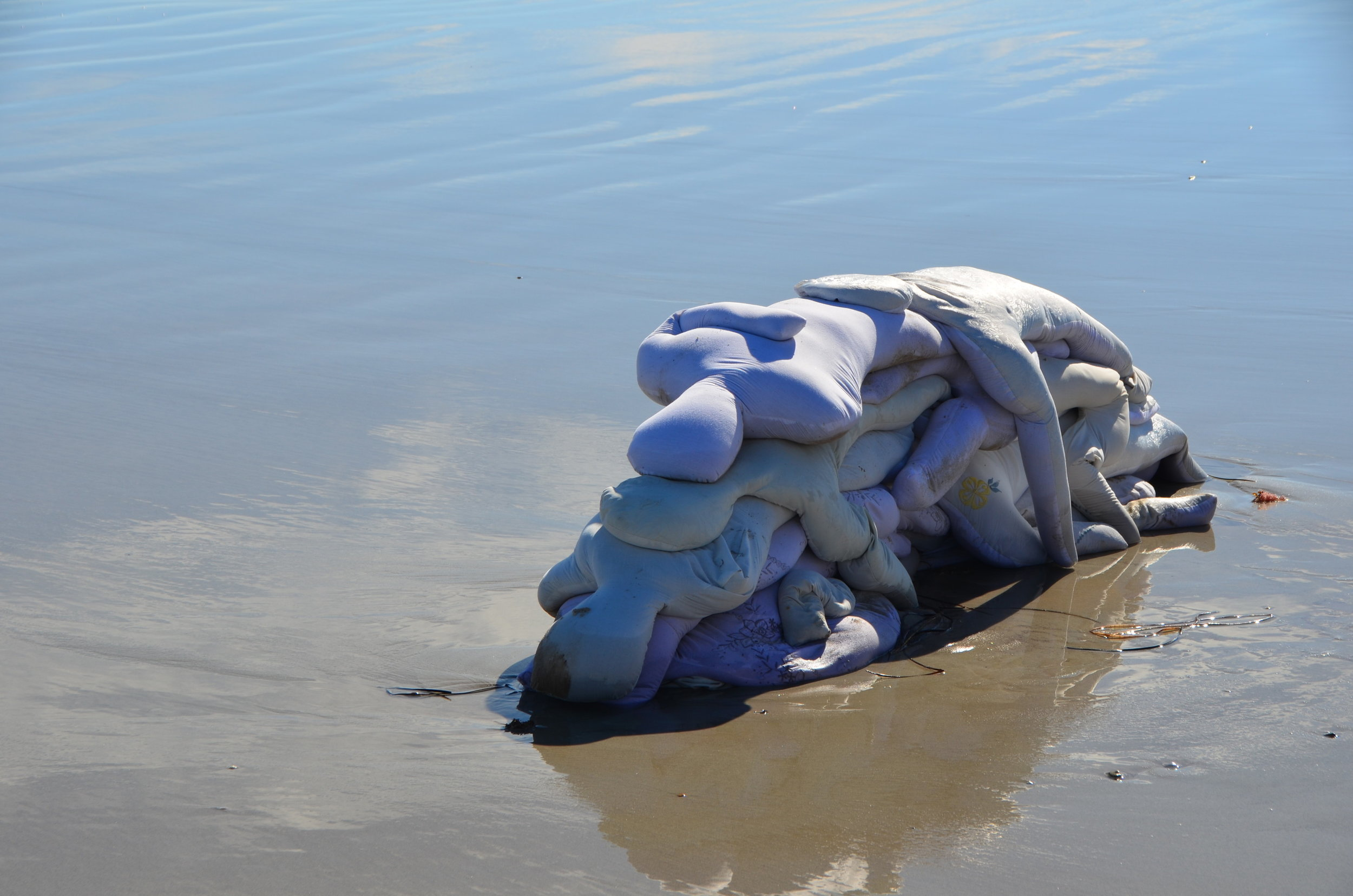 1. Act of ReEncounter.Reclamation Act I -2019, Sand, linen, cotton, wool, dimensions variable - Image Jacob Laing.jpg