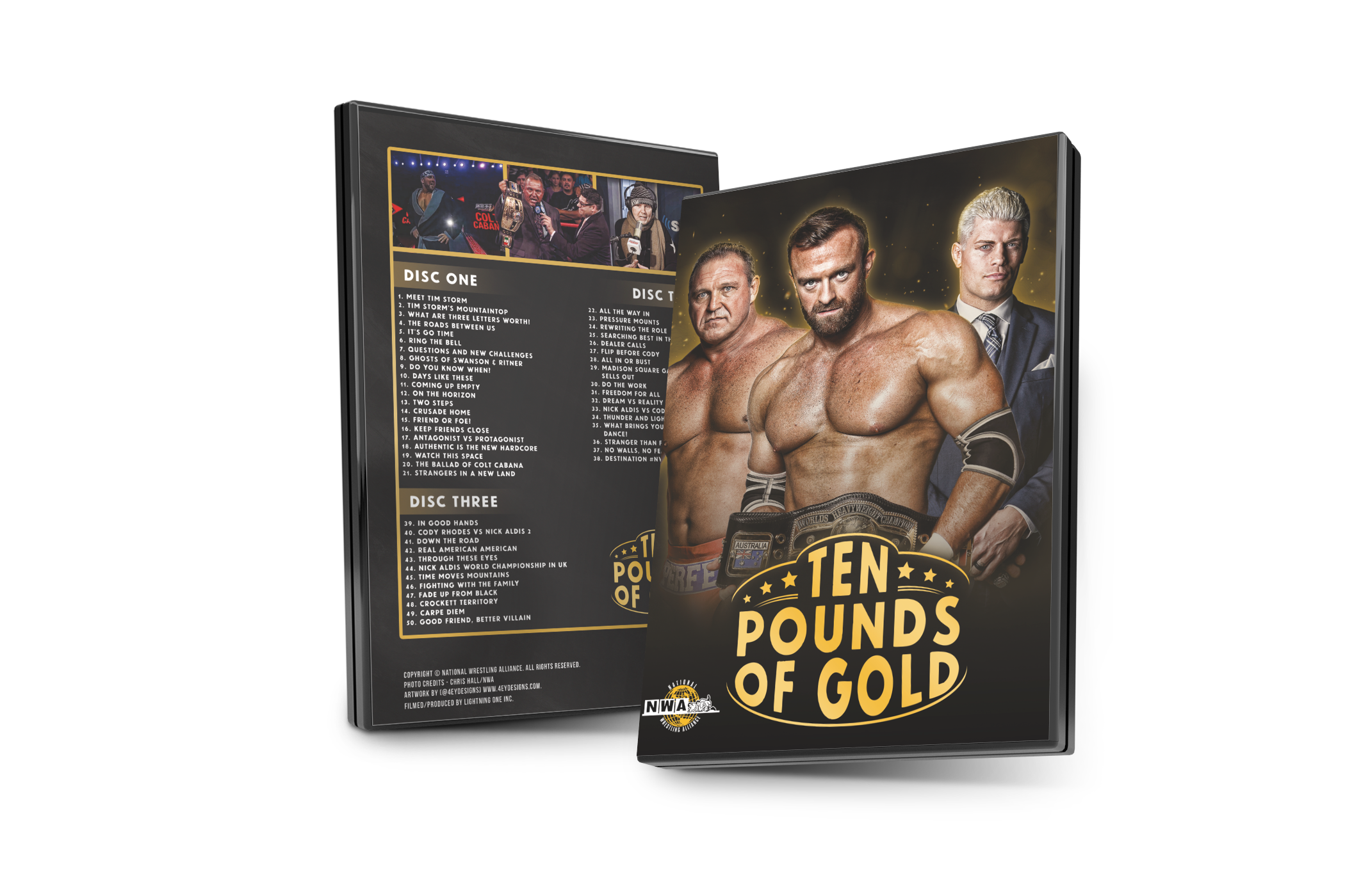 Own Ten Pounds of Gold - 3 Disc DVD