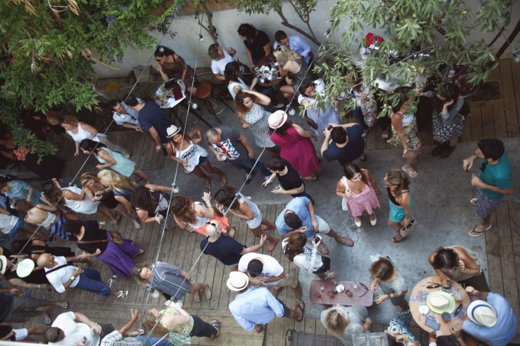 Binnentuin Little Tel Aviv