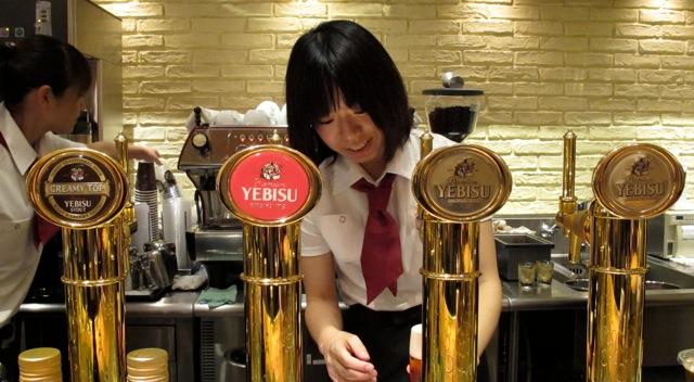 De Yebisu bier cult in Ebisu