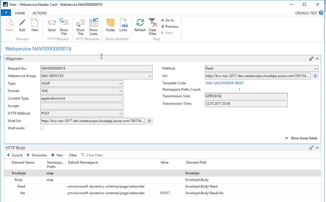 - Auch für frühere Versionen von Business Central (formerly known as Dynamics NAV) ist der Webservice Manager verfügbar.