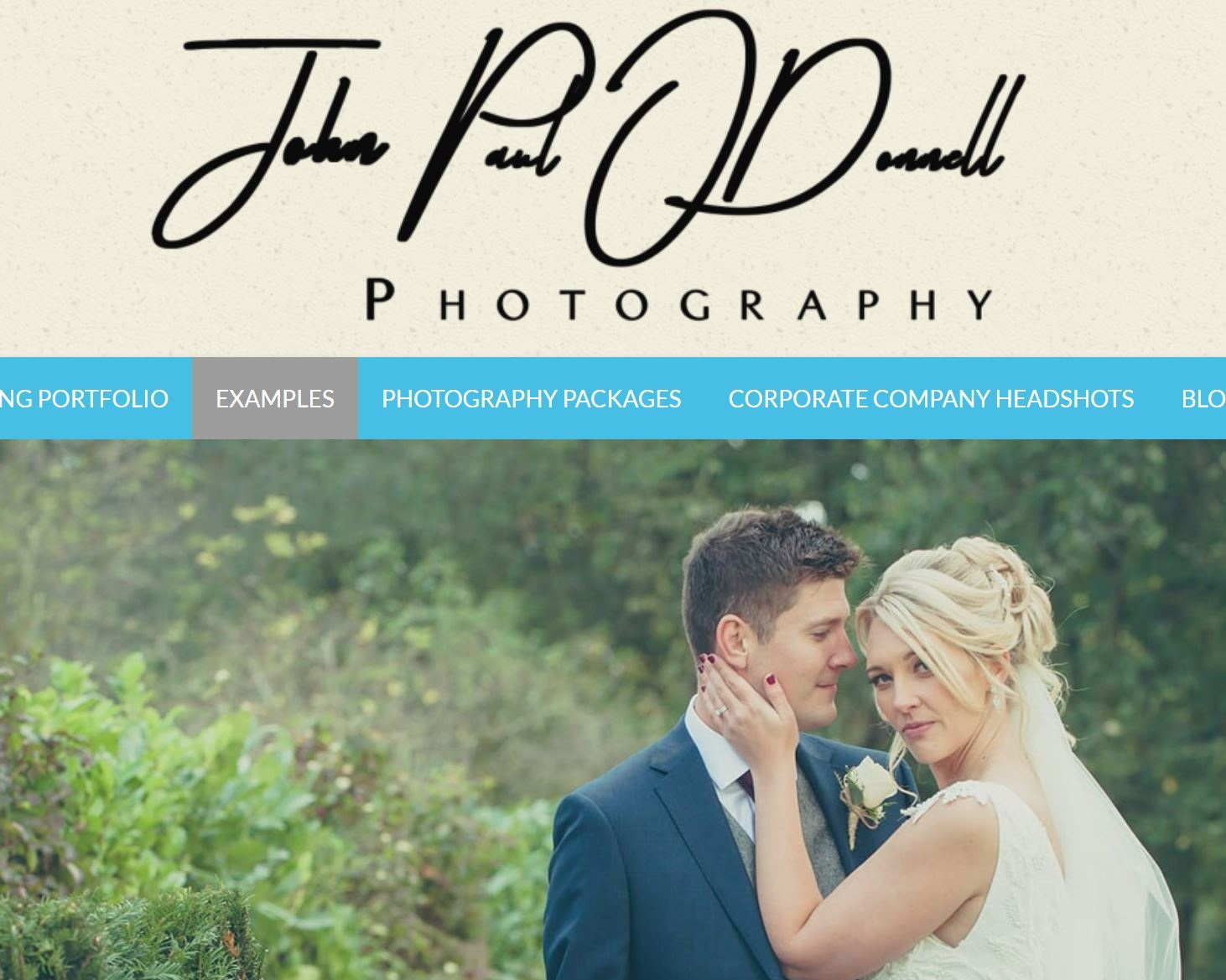 John Paul ODonnell - Classically trained professional wedding photographer in Hertfordshire with a career that spans 24 years.