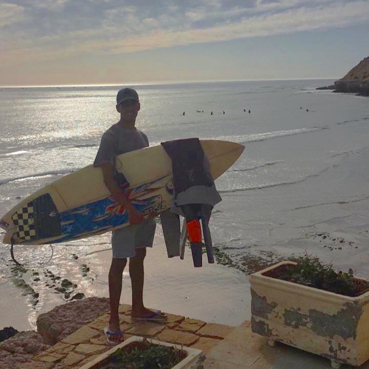 Karim surf board