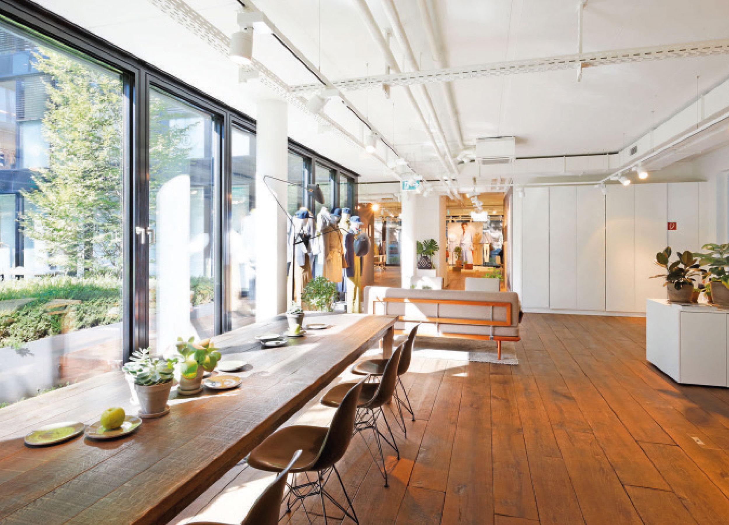 windsor. Showroom Mailand