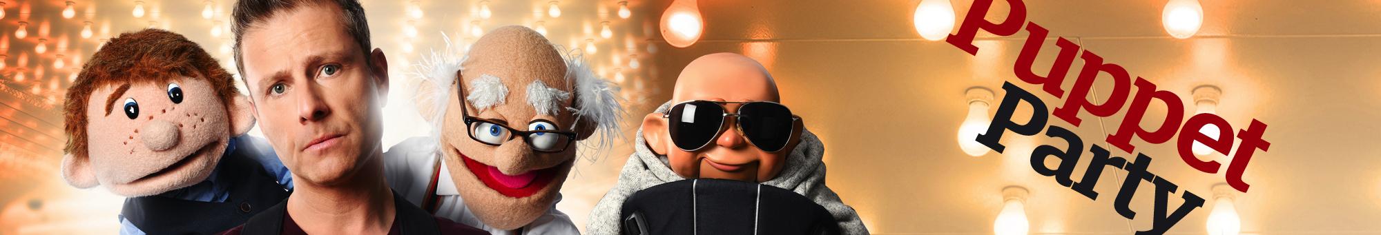 Paul Zerdin Puppet Party