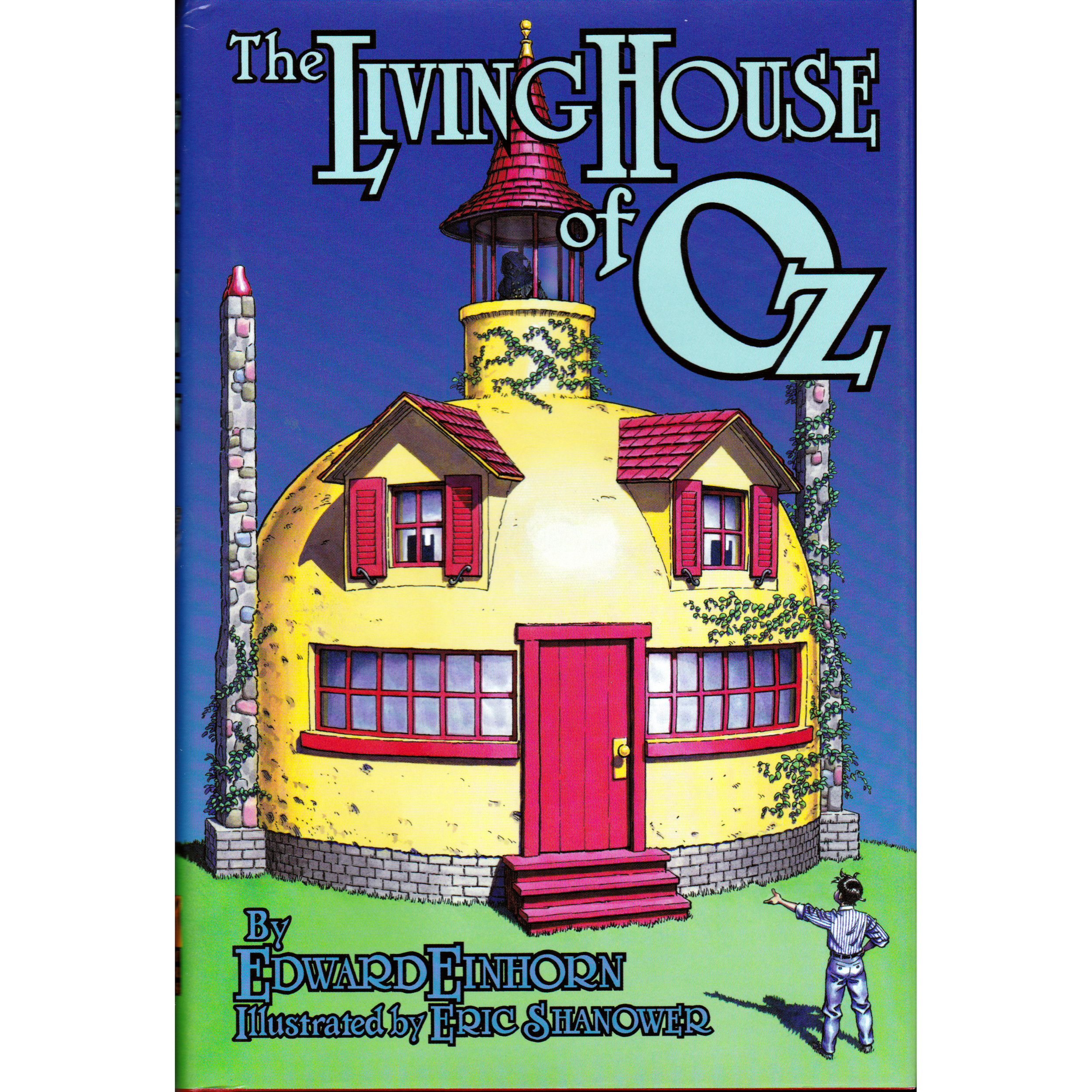 The Living House of Oz - ILLEGAL MAGIC IN OZ! What do you do when your mother is arrested for practicing witchcraft? For thirteen-year-old Buddy the answer is easy—he's off to rescue her from imprisonment in the Emerald City of Oz! With help from friends such as the living hat stand that calls itself the Earl of Haberdashery, Buddy finds he must challenge the Wizard of Oz and Glinda the Good, the most powerful magic-workers in Oz. Illustrated by Eric Shanower.