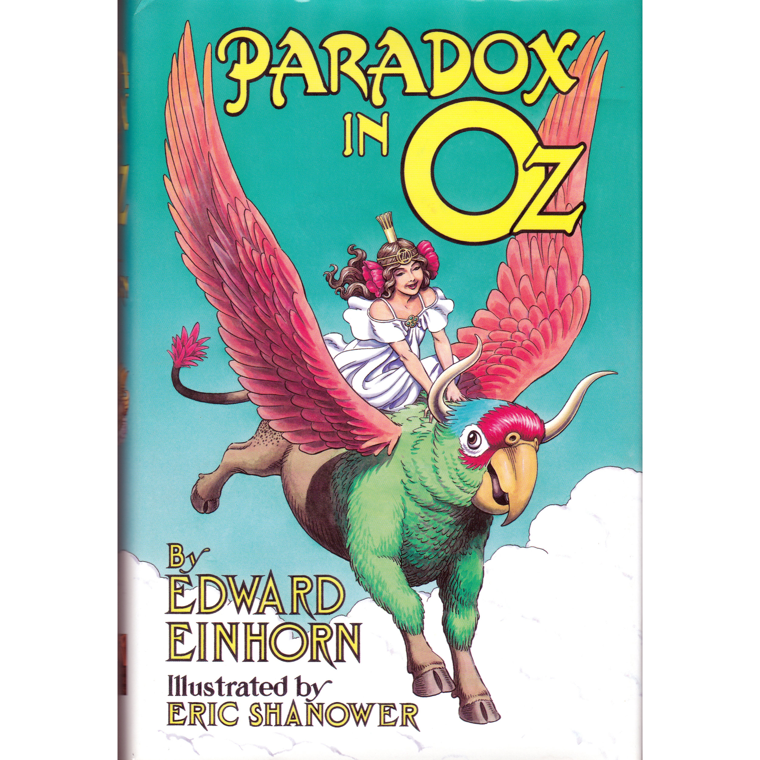 Paradox in Oz - OZ IS AGING! Ozma, the lovely girl ruler of Oz, must find a way to restore the enchantment that keeps her people young and vibrant. A lovable but puzzling Parrot-Ox named Tempus carries Ozma back through time to seek the source of the aging enchantment. Ozma meets strange versions of her closest friends in an alternate timestream: Glinda, the Wizard, the Cowardly Lion, even Ozma herself! Illustrated by Eric Shanower.