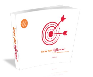 Know Your Difference - branding workbook