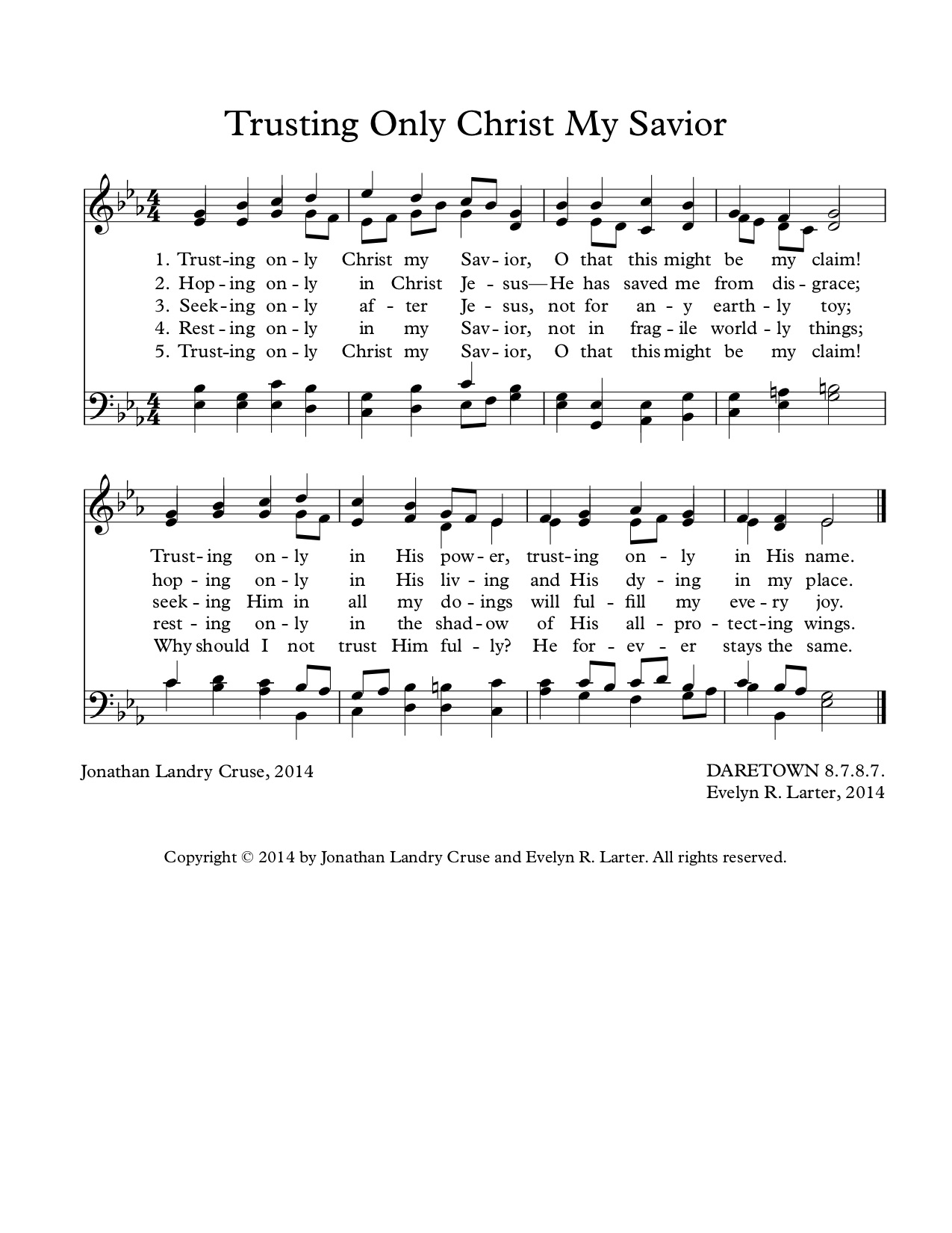 Trusting Only Christ My Savior (DARETOWN)CL1.jpg