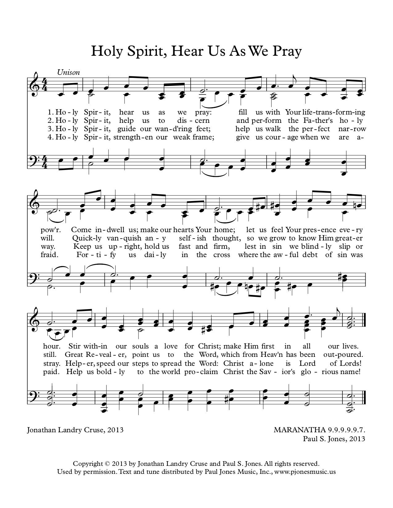 Holy Spirit, Hear Us As We Pray (MARANATHA)CL1.jpg